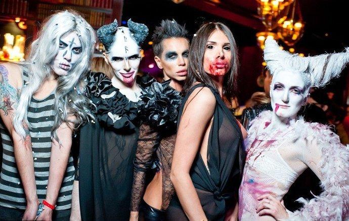фото на хэллоуин людей