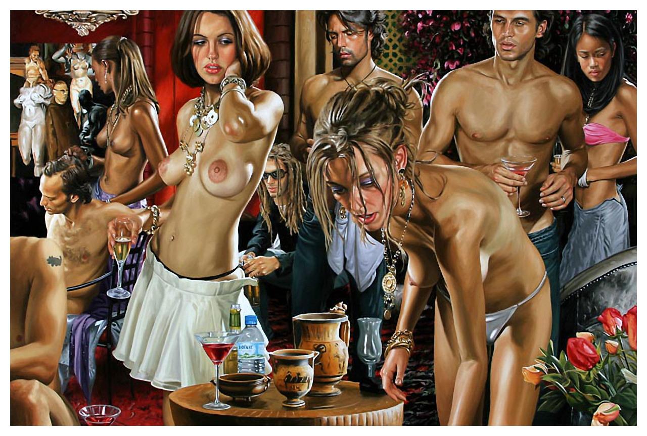 Секс на гламурной вечеринки 9 фотография