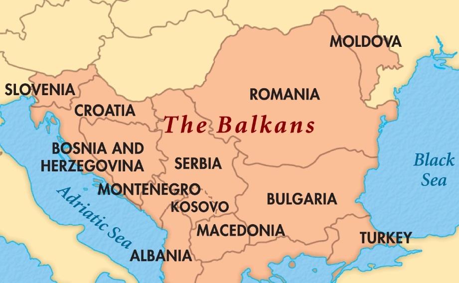 Картинки по запросу карта балканы