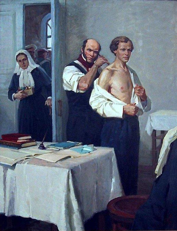 жену осматривает врач рассказы