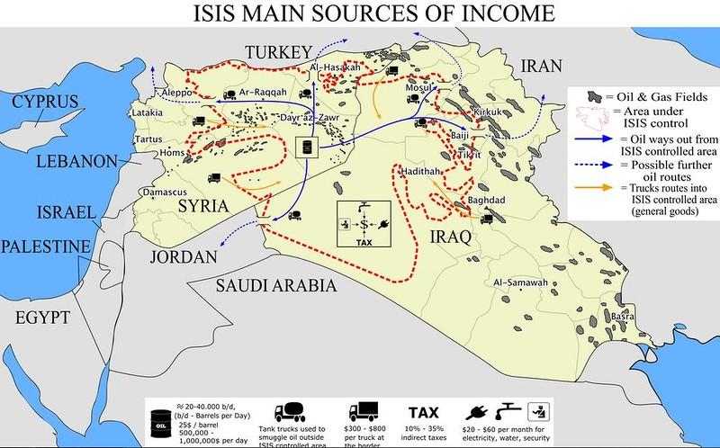 Курды опровергли заявление Минобороны РФ о нефти ИГИЛ для Турции - Цензор.НЕТ 9794