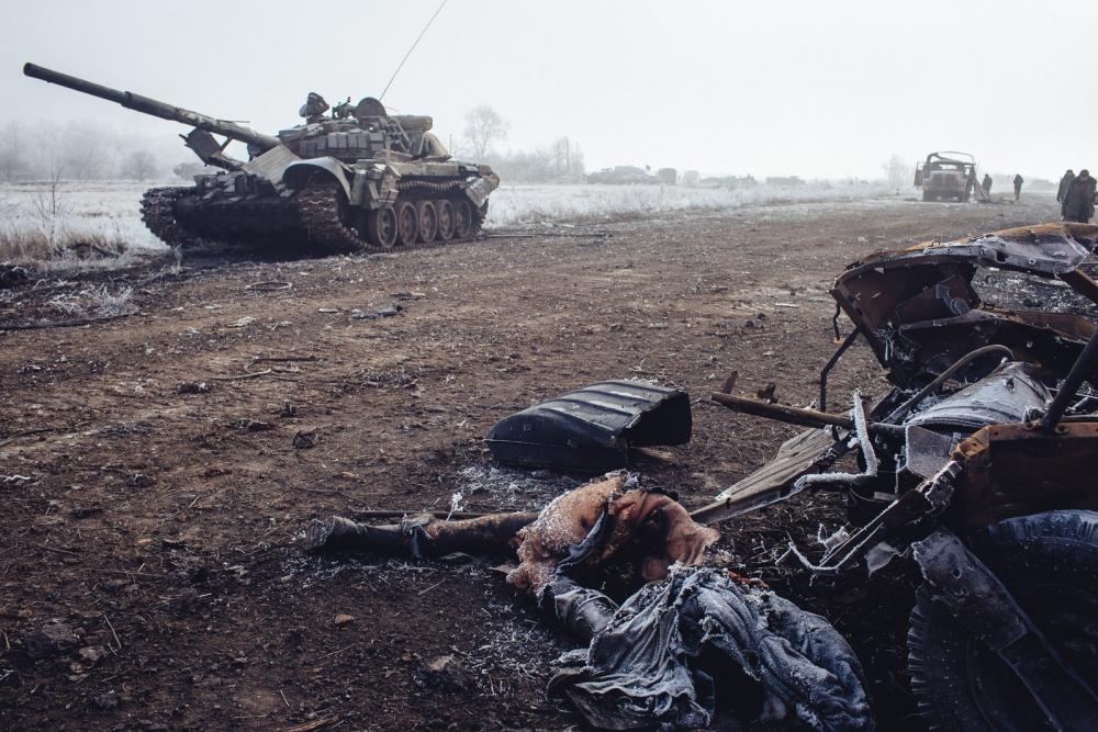 Ополченцы на БТРах при поддержке ПТРК разнесли позиции ВСУ под Мариуполем