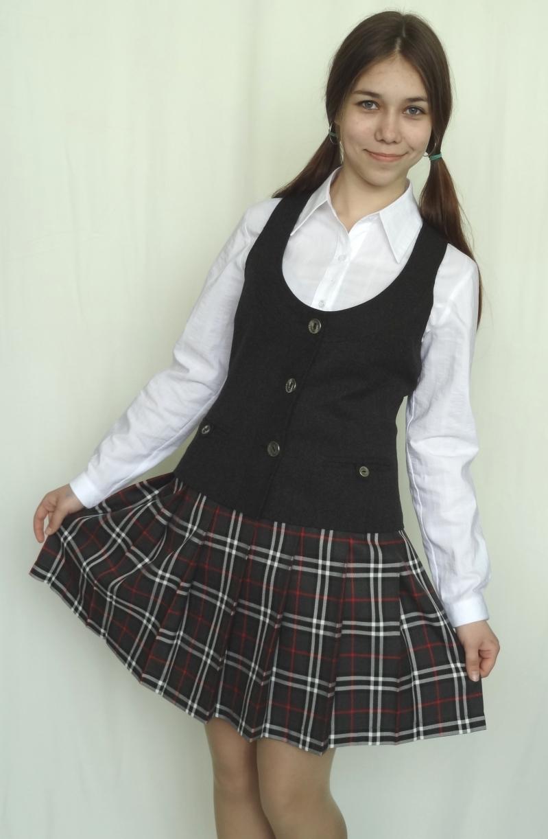 Школьная форма на обнаженной девушки фото 456-395