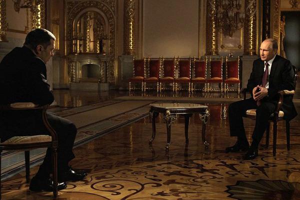 Интервью Путина расставит все точки над «i». Фильм Президент