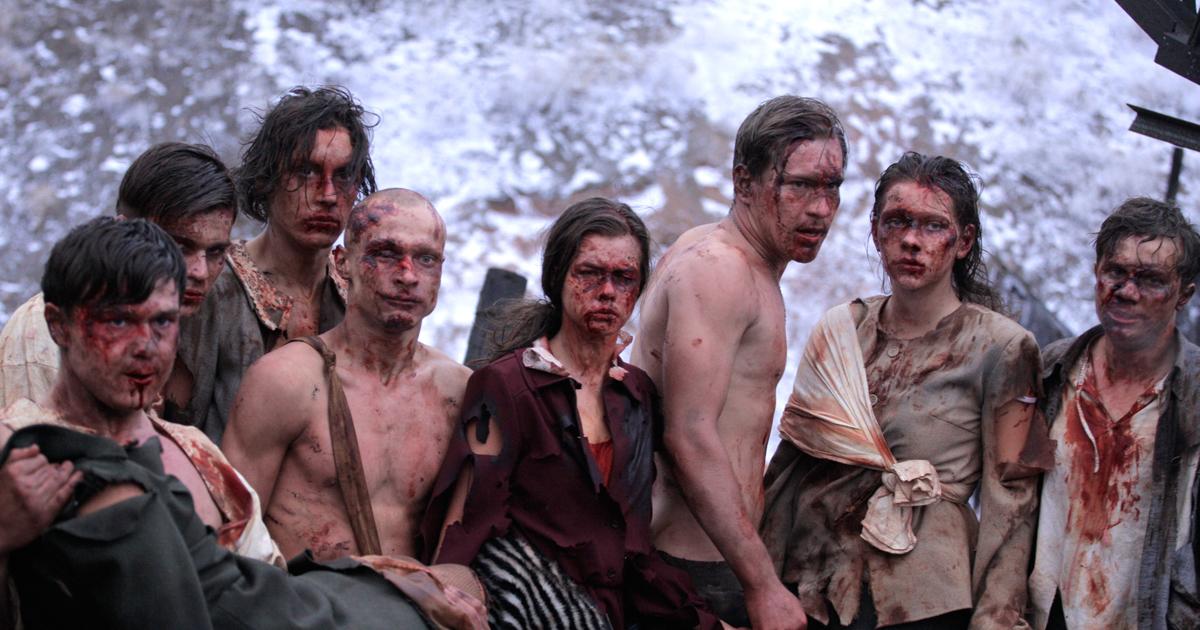Молодая гвардия картинки из фильма 2015