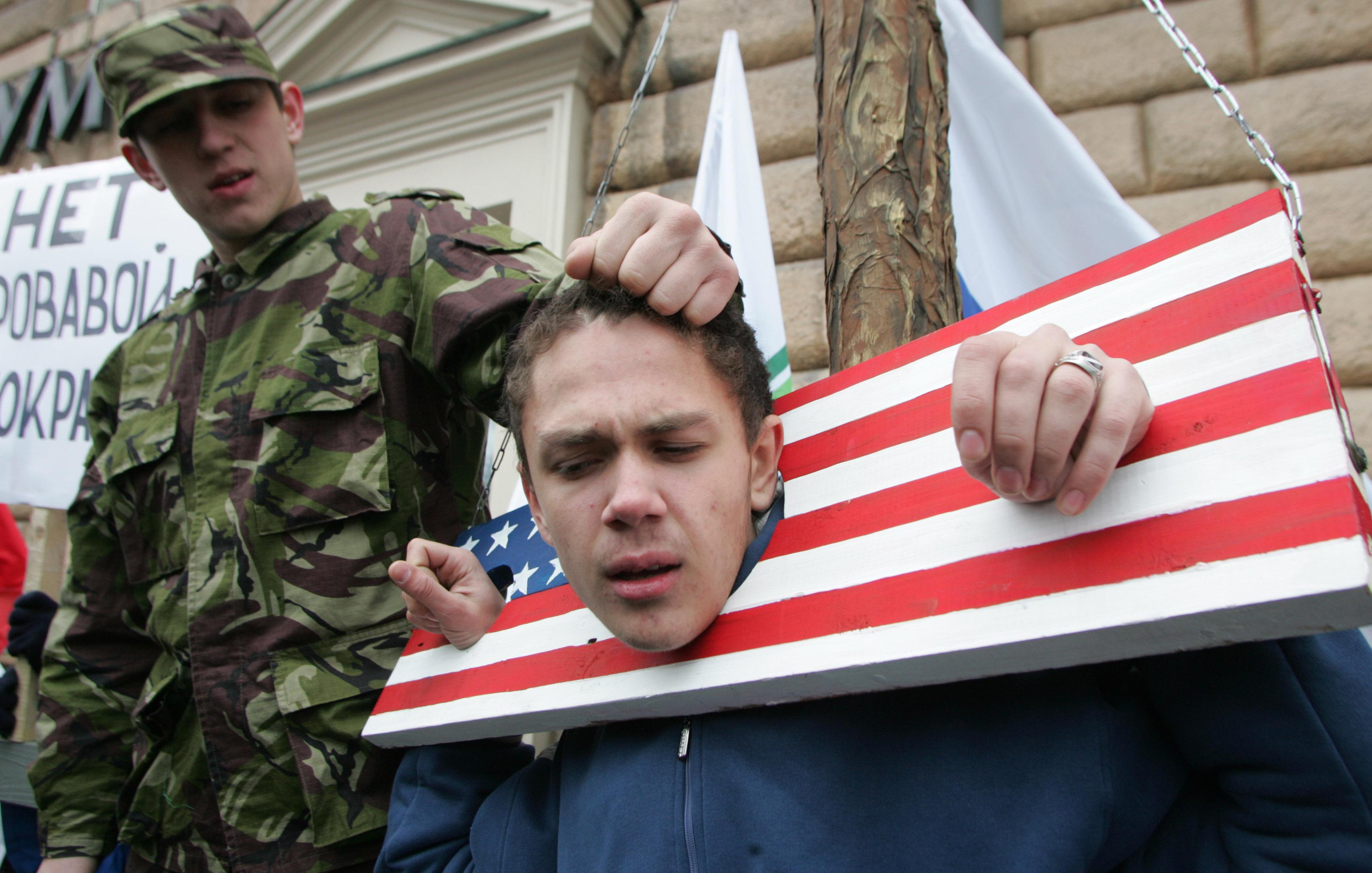 американские картинки про русских померанский