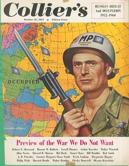 Немного юмора. Пропаганда США от 1951 года про третью мировую войну
