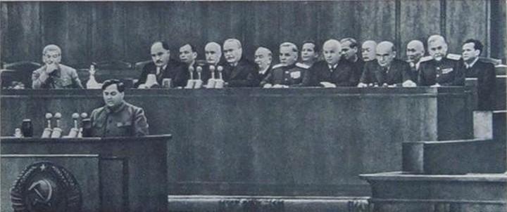Доклад Г.М. Маленкова на XIX съезде ЦК КПСС, октябрь 1952 года