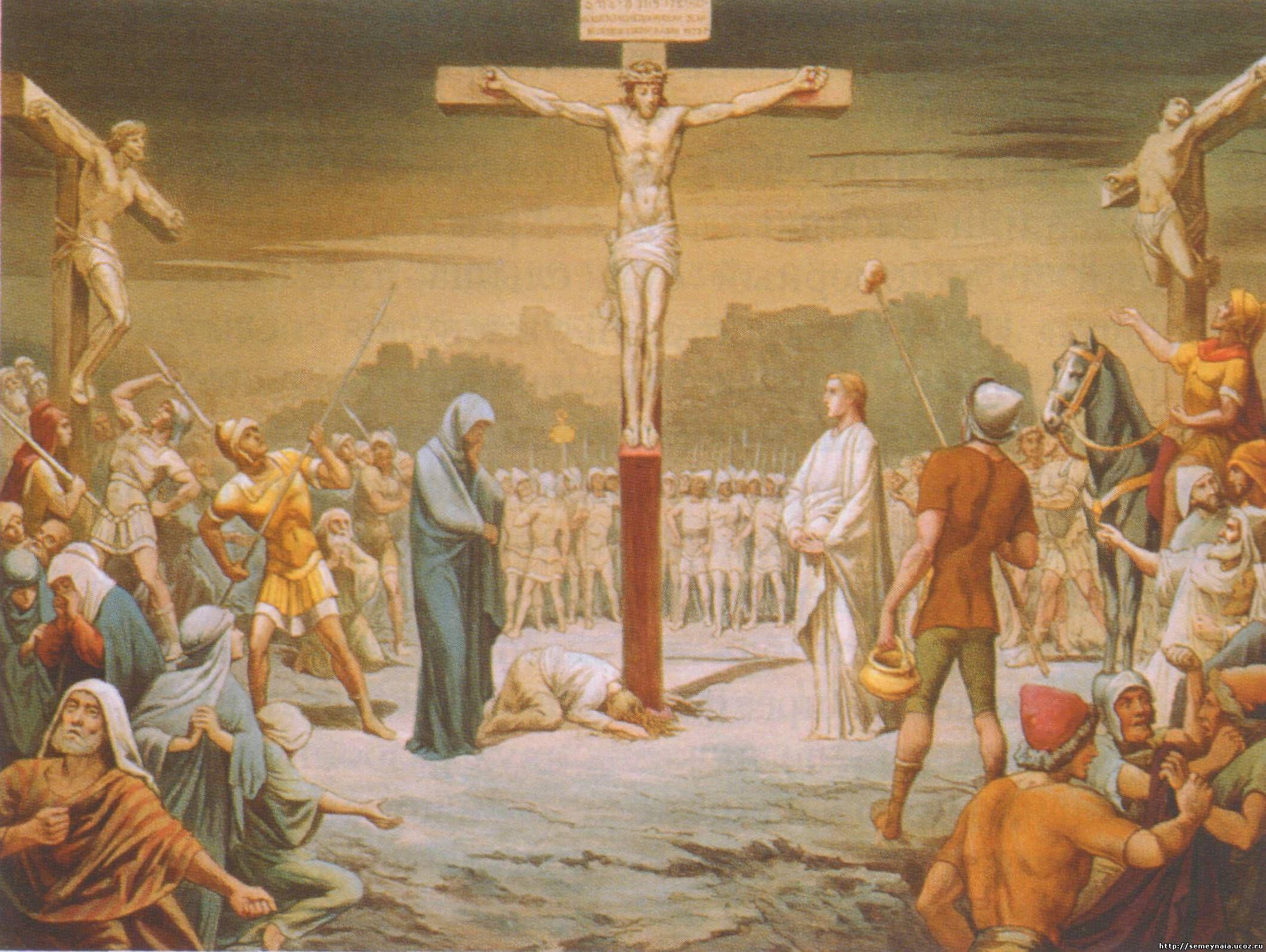 Картинки иисус христос на кресте