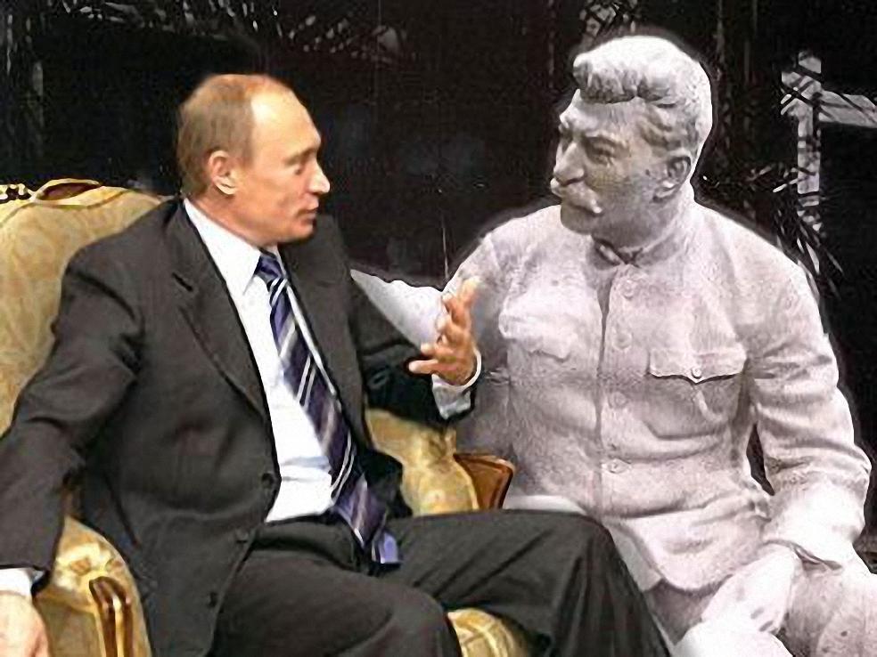 Воображаемый диалог В.В. Путина и И.В. Сталина