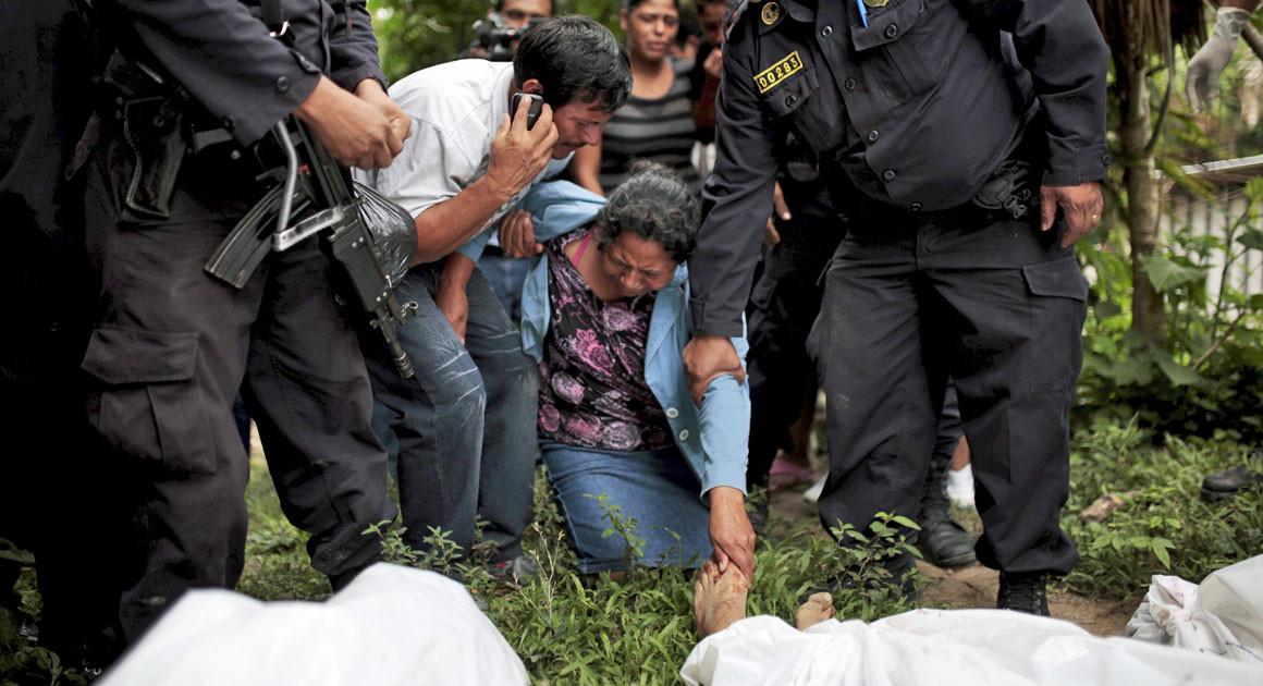 Северный треугольник насилия в Центральной Америке