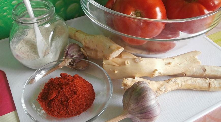 хреновина рецепт приготовления с фото