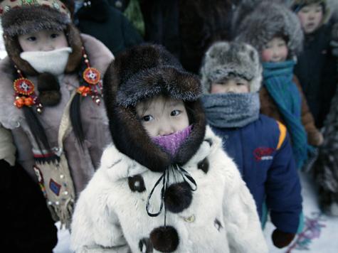 ВОймяконе детей отправили вшколу из-за недостаточно холодной погоды в