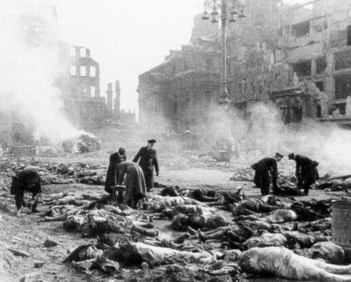 Выжженный Дрезден-1945.