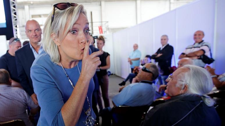 Sydney Morning Herald: После американских выборов рука Москвы «тянется» к Франции