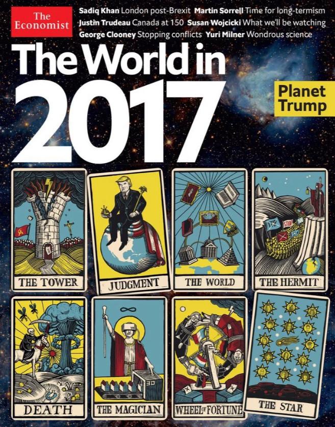 """""""Слив"""" Америки + Катастрофа Economist-2017"""