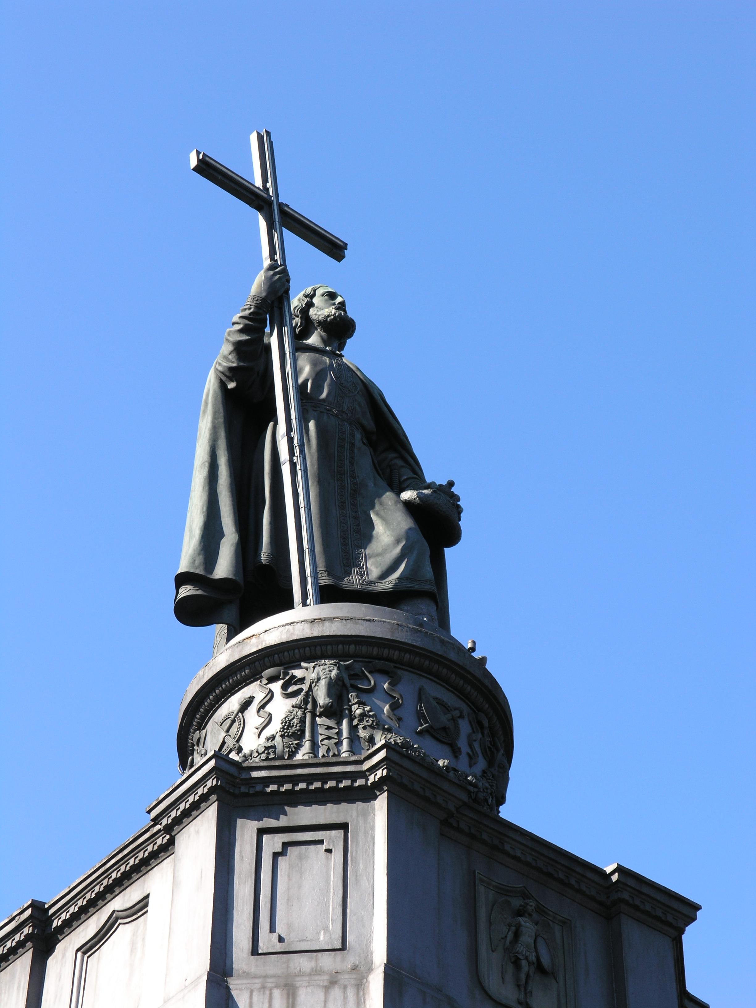 памятник князю владимиру в киеве фото