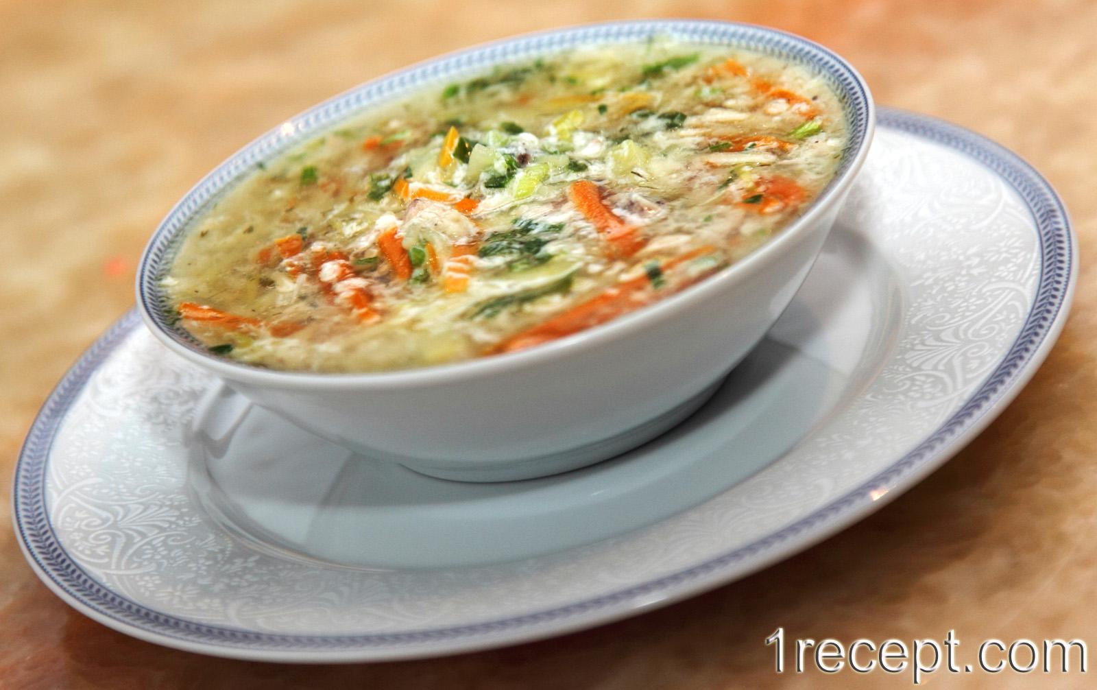 пп рецепт куриный суп пюре