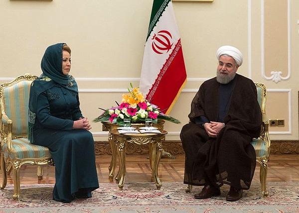 Картинки по запросу матвиенко в иране