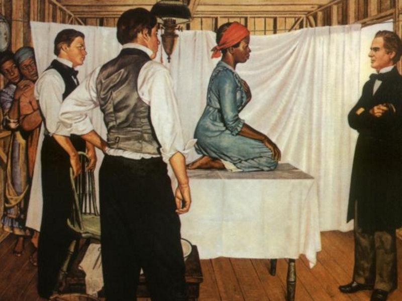 Чернокожие у гинеколага фото 618-623