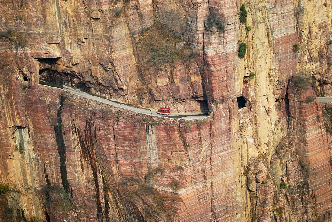 Дорога из Гулянь, Китай