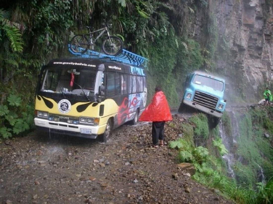 Дорога Северный Юнгас, Боливия