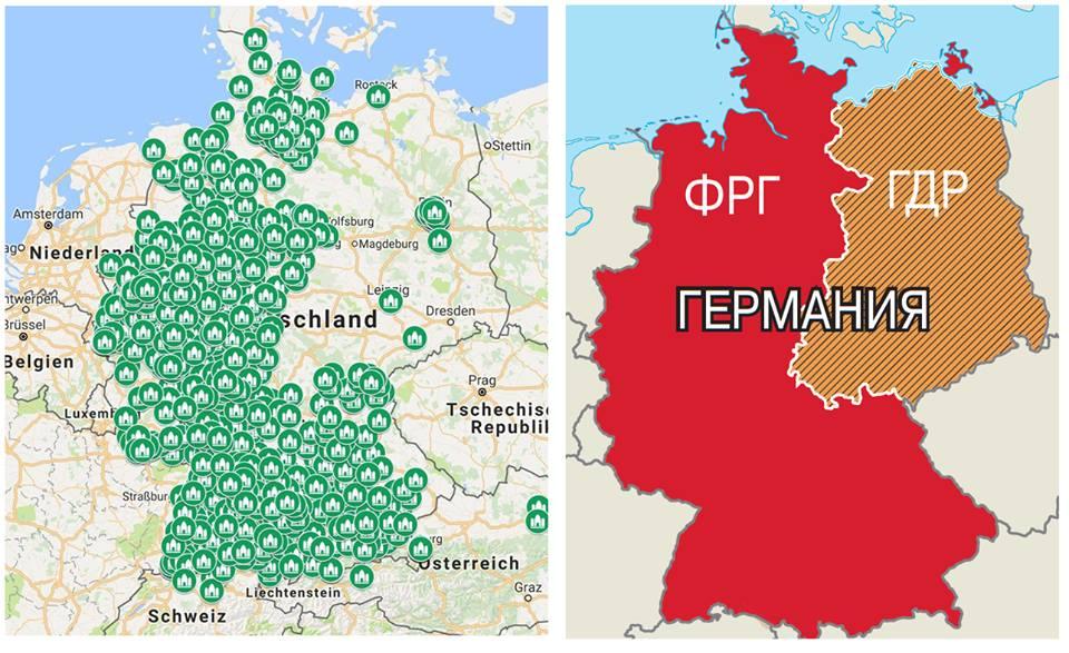 <p>Dešinėje - mečetės šiandien veikiančios Vokietijos federacinėje&nbsp;respublikoje.</p>  <p&...