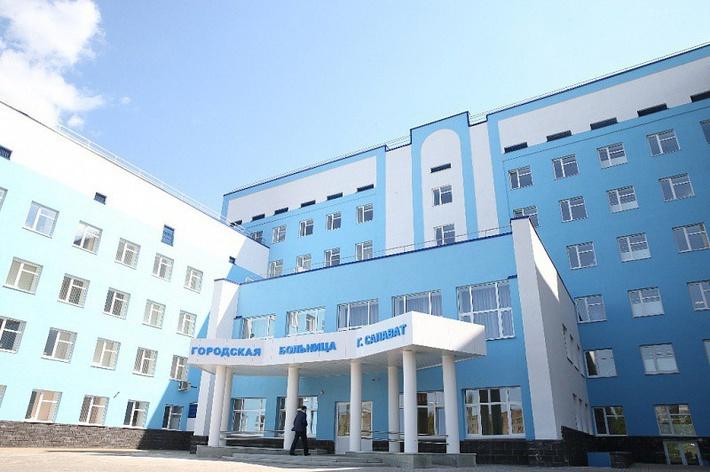 детская больница в салавате фото