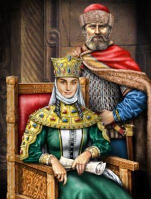 царь и царица картинки
