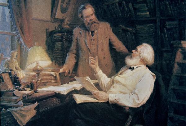 К 150-летию со дня выхода в свет «Капитала» Маркса.  Статья вторая: «Капитал» и естествознание того времени