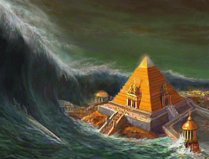 Гибель допотопной цивилизации — Атлантиды
