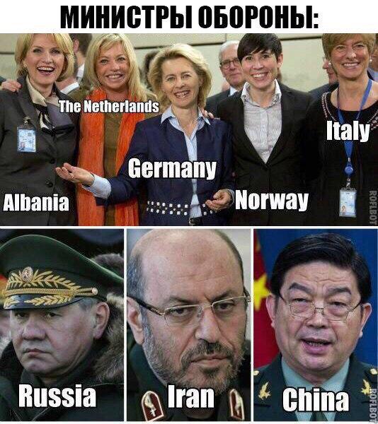 <p>Gynybos ministrai.</p>...