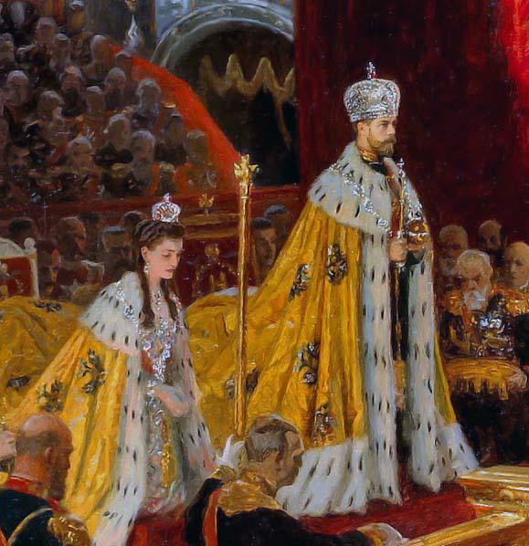 Венчание царя на царство картинки