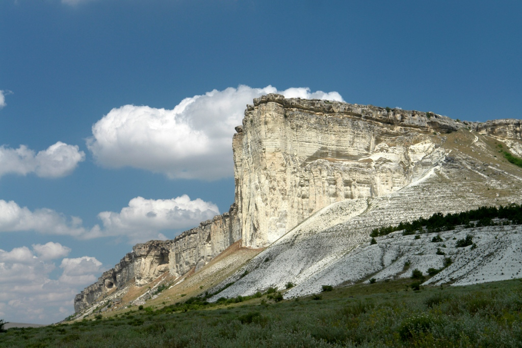 фото крым белая скала