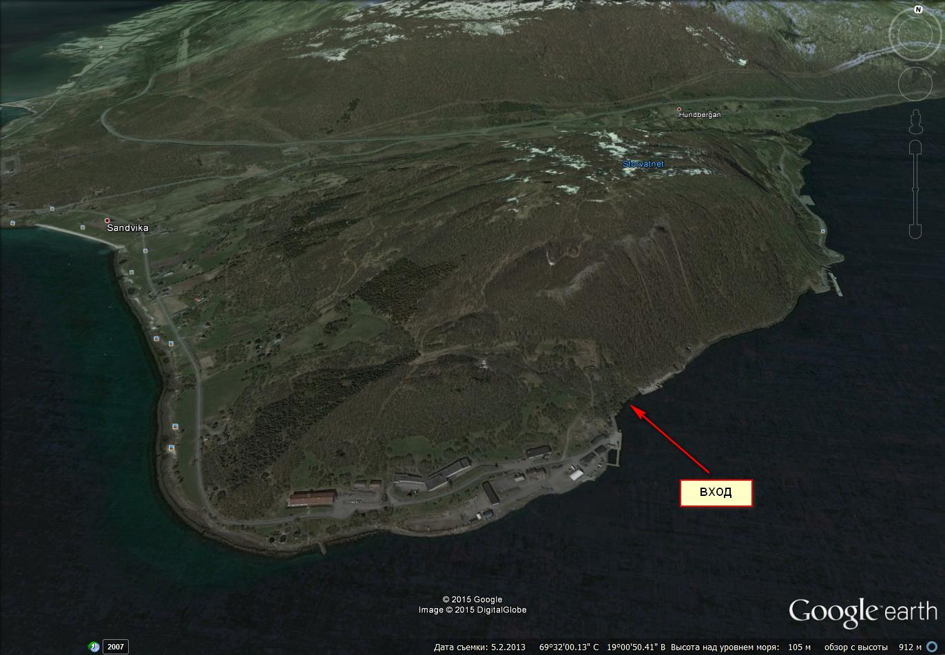 карта баз подводных лодок россии на карте