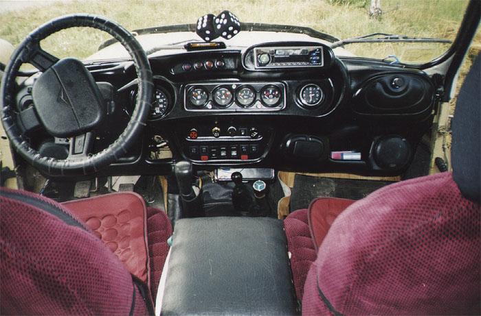 tuning saloon uaz 469 dashboard acoustic 04 - Тюнинг панели приборов уаз 469
