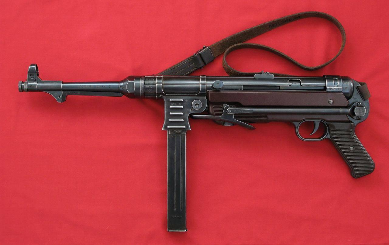 пистолеты пулеметы 2 мировой войны схема усм
