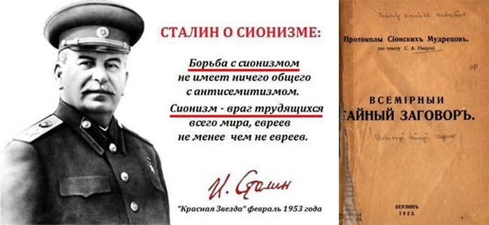 Отношение к евреям при сталине