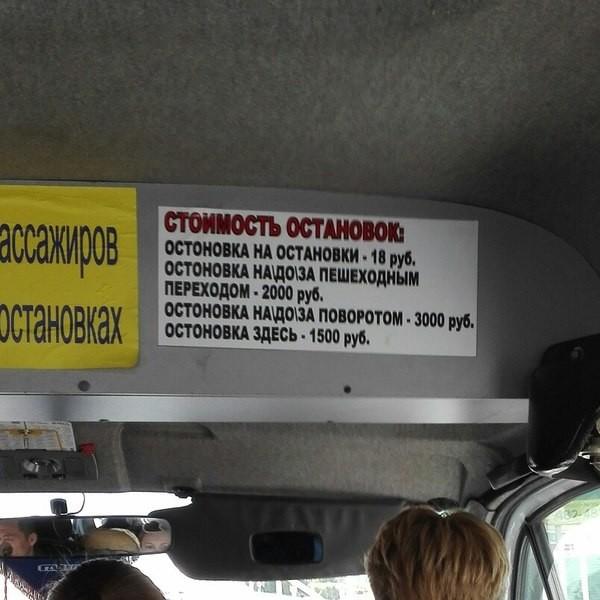 своем объявление в автобусах картинки раз упоминал, что