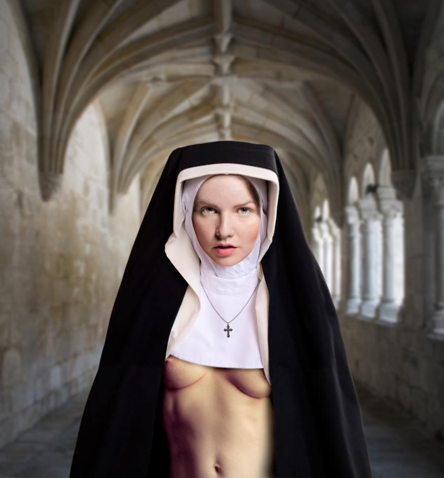 Girl next door.монашки