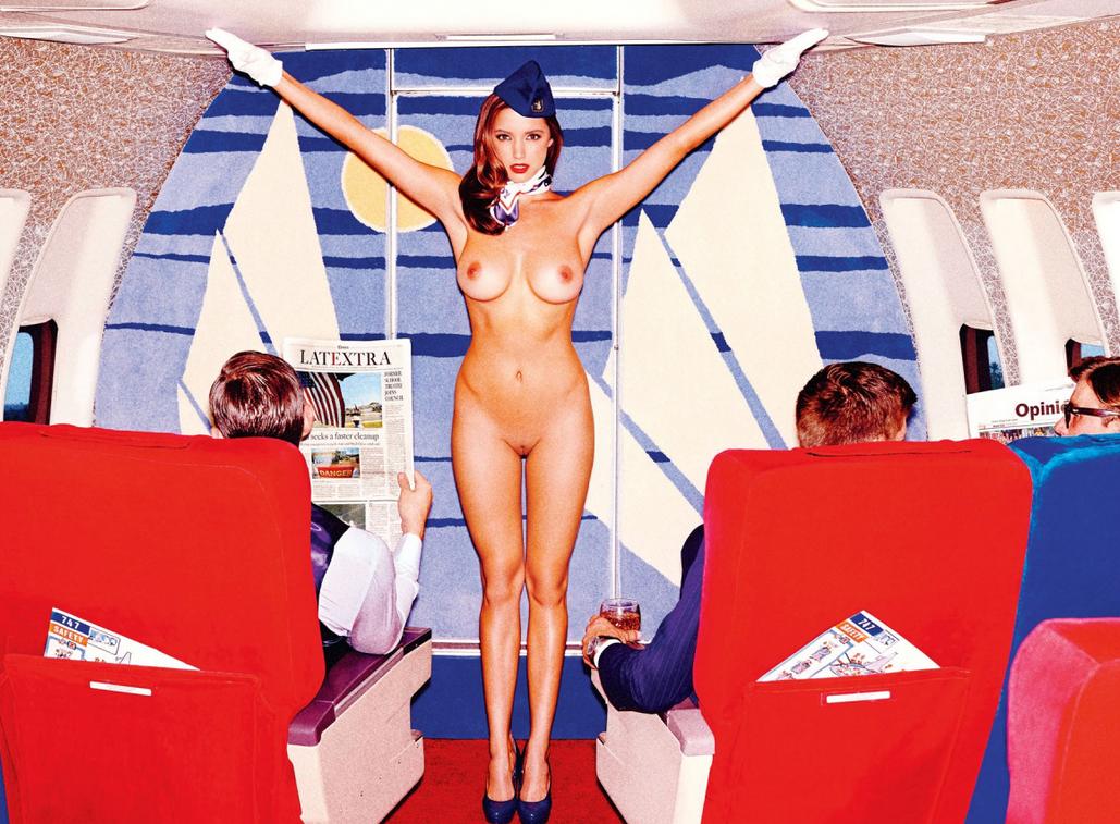 Транса чулках эротика в самолетах попе фото
