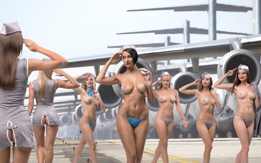 Nude Sexy Flight
