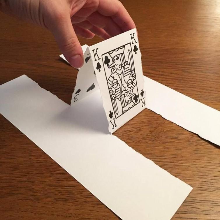 Прикольные рисунки из бумаги