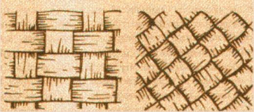 Техника плетения лаптей
