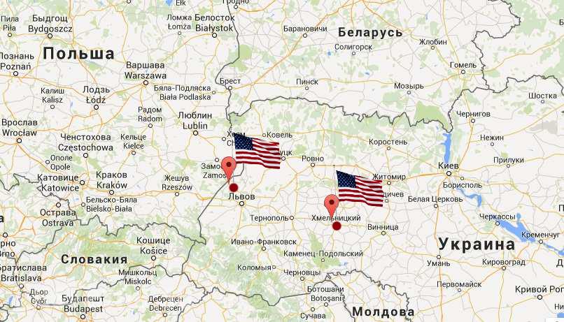 американские инструкторы в украине фото