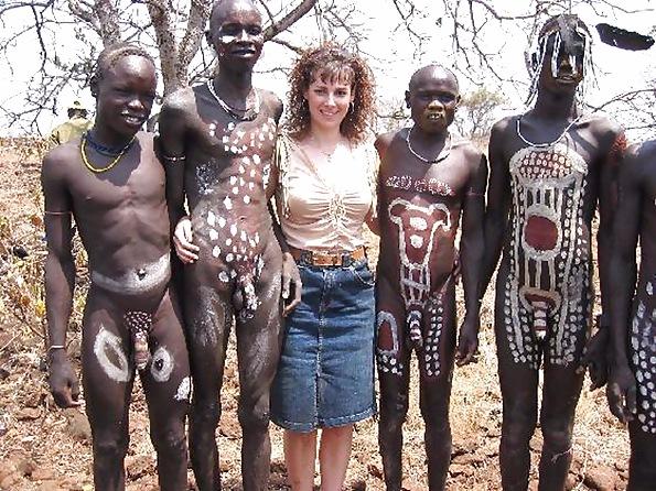 Африканцы толпой