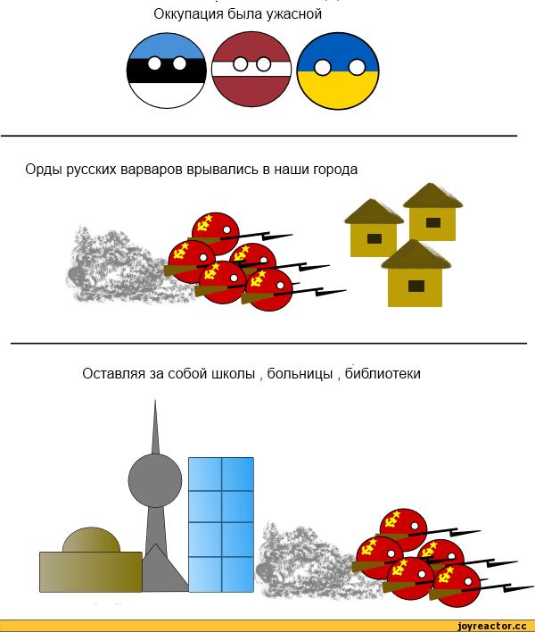 За советскую оккупацию придется платить, но платить будете вы