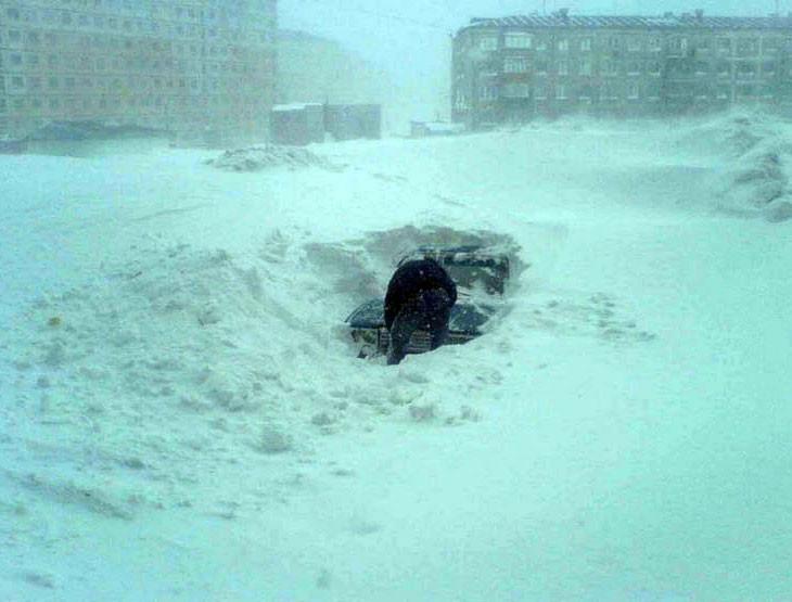 Жителям Екатеринбурга предрекли 200-градусные морозы