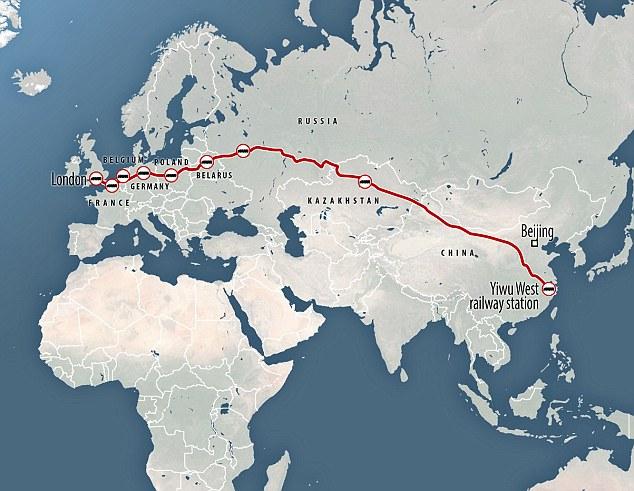 Один пояс — один путь Шелковый путь из Китая