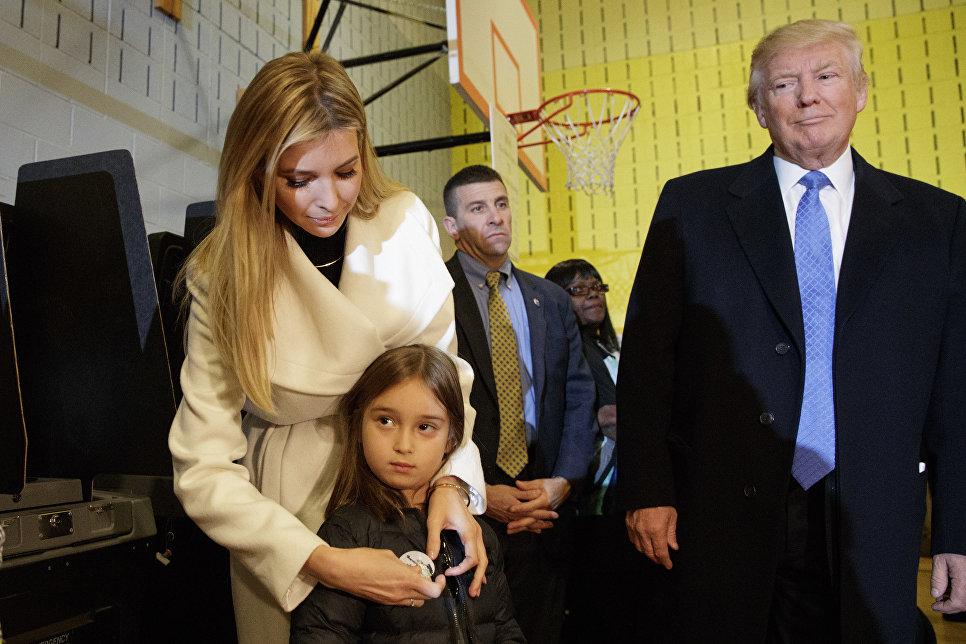 Иванка Трамп - дочь Дональда Трампа